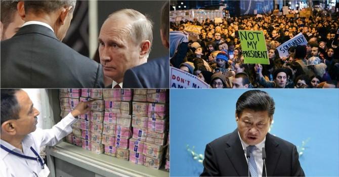 Thế giới 24h: Trung Quốc dọa trả đũa kinh tế Mỹ, ông Trump không truy cứu bà Clinton