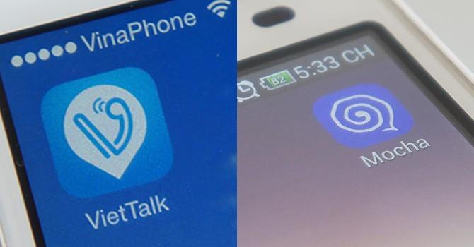 """""""So găng"""" ứng dụng OTT của Viettel và Vinaphone"""