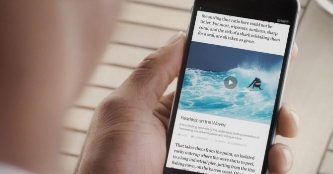 Ra chức năng mới, Facebook cho phép đọc báo cực nhanh