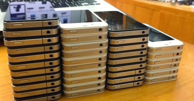 Phần lớn điện thoại Việt Nam được nhập từ Trung Quốc
