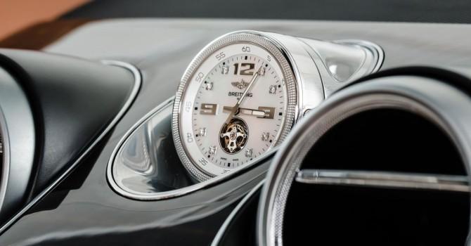 Bentley Bentayga được trang bị thêm đồng hồ đặc biệt gần 4 tỷ đồng
