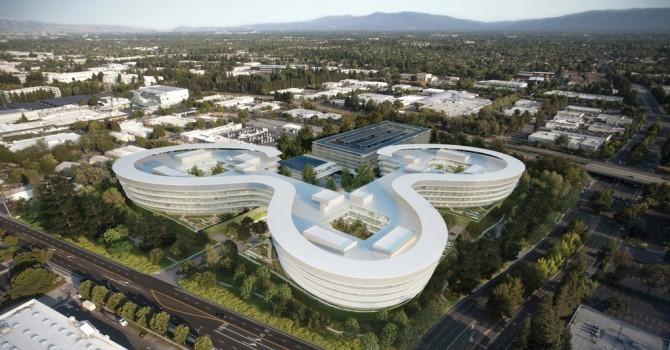 [Ảnh] Apple sắp xây trụ sở mới ngay phía sau Google