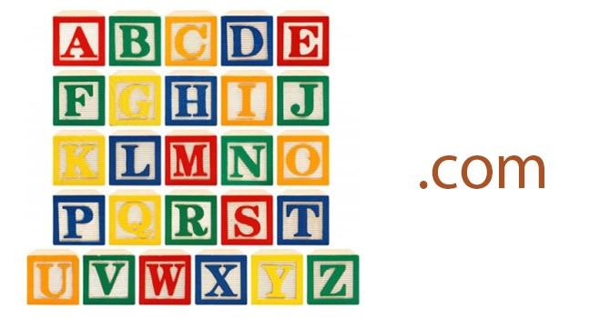 Google đã mua tên miền cả bảng chữ cái .com