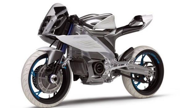 Yamaha giới thiệu ý tưởng thiết kế moto điện thông minh