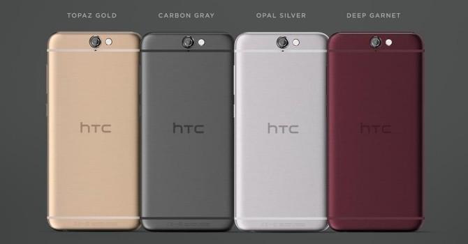"""HTC chính thức ra mắt chiếc A9 với thiết kế """"giống"""" iPhone"""