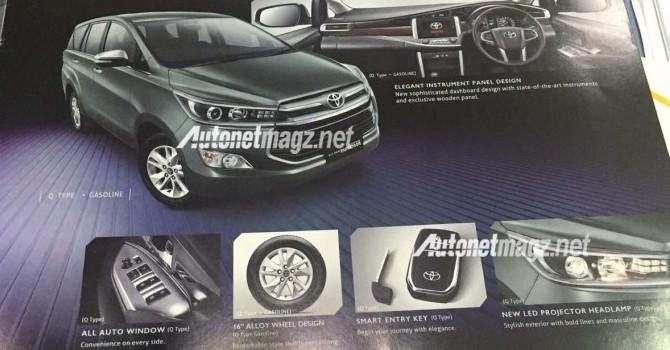 Lộ ảnh Toyota Innova 2016 với nhiều nâng cấp