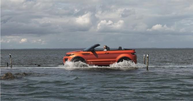 [Ảnh] Land Rover ra mắt chiếc SUV mui trần đầu tiên trên thế giới