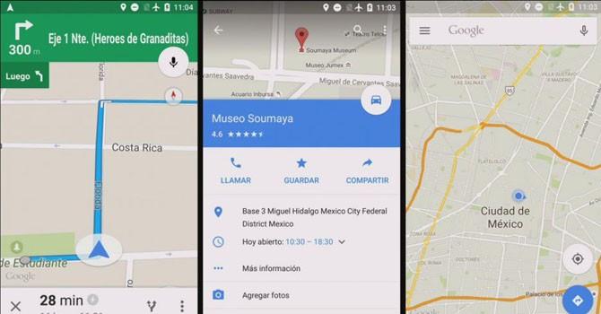 Google Map đã có thể dẫn đường không cần tới Internet