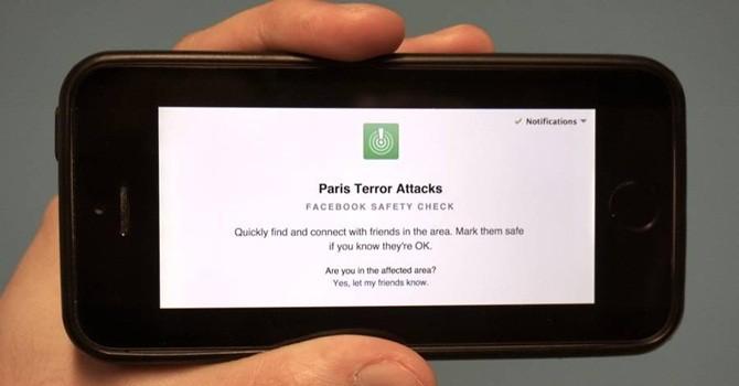 Facebook thêm chức năng xác nhận an toàn tại Paris