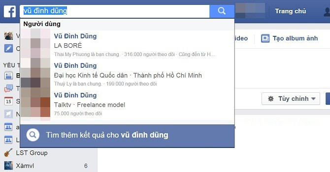 """Tại sao mọi người nổi tiếng trên Facebook đều trở thành """"Vũ Đình Dũng""""?"""
