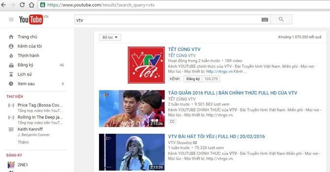 """VTV thừa nhận """"sao chép"""" sau khi bị dừng hoạt động kênh Youtube"""