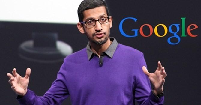 """Sếp Google """"bỏ túi"""" lương thưởng gần 100 triệu USD năm 2015"""