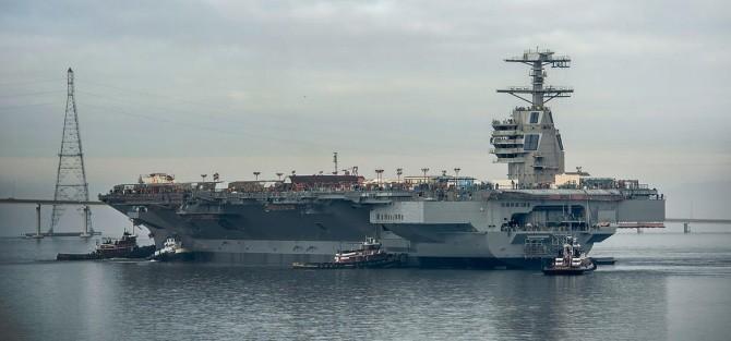 Thăm tàu sân bay 13 tỷ USD sắp gia nhập Hải quân Mỹ