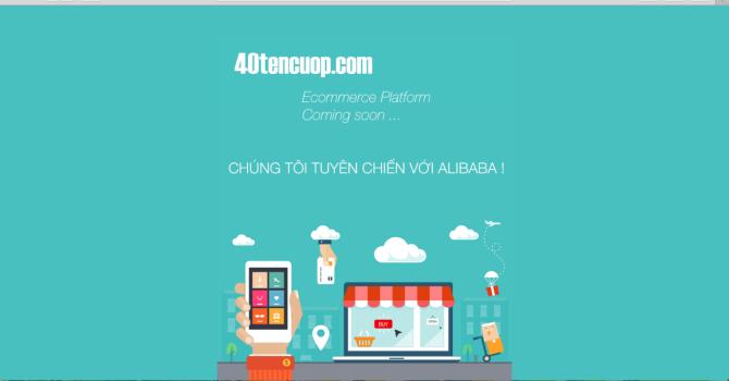 """Chưa chính thức vào thị trường, Alibaba đã bị """"40 tên cướp"""" đe doạ"""