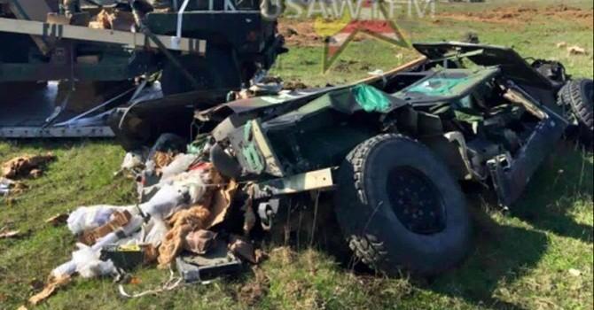 Lính Mỹ hào hứng nhìn thiết giáp rơi tự do từ máy bay