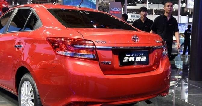 Công nghệ 24h: Toyota Vios 2016 ra mắt tại Trung Quốc với nhiều thay đổi