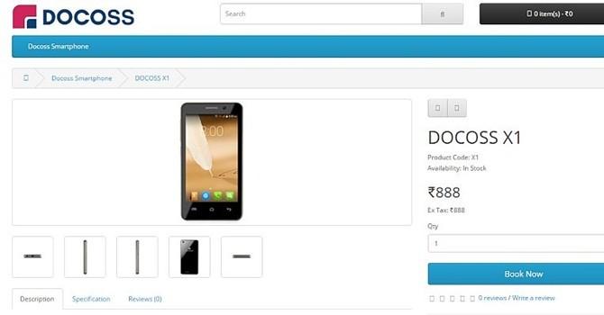 Công nghệ 24h: Ấn Độ lại ra mắt thêm smartphone với giá chưa đến 300.000 đồng