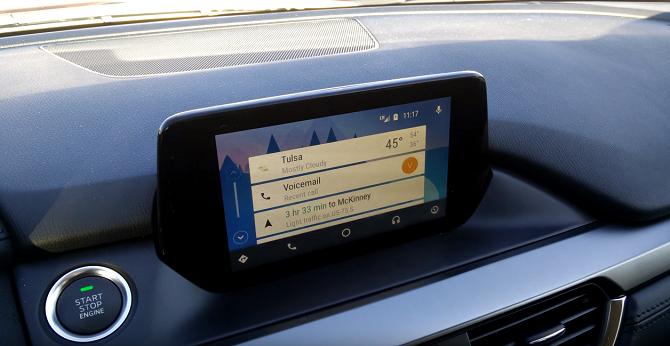 [Ứng dụng cuối tuần] Nâng cấp hệ thống giải trí trên Mazda 3 lên Android Auto