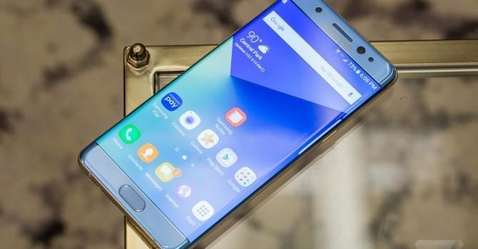 Samsung Galaxy Note 7 chính thức ra mắt với khả năng quét võng mạc