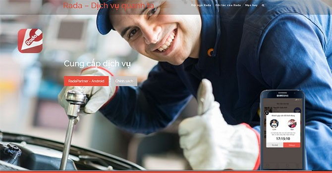 [TekINSIDER] Rada: Từ ứng dụng sửa xe máy đến hỗ trợ tất cả dịch vụ gia đình