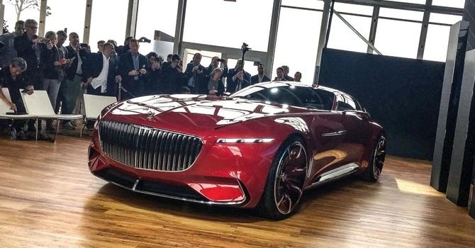 Chi tiết siêu xe điện Maybach 6 của Mercedes
