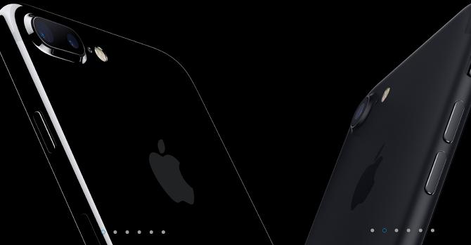 Hai màu đen của iPhone 7 khác gì nhau?
