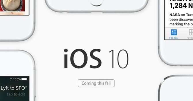 Cập nhật iOS 10 có thể làm cho iPhone ngừng hoạt động
