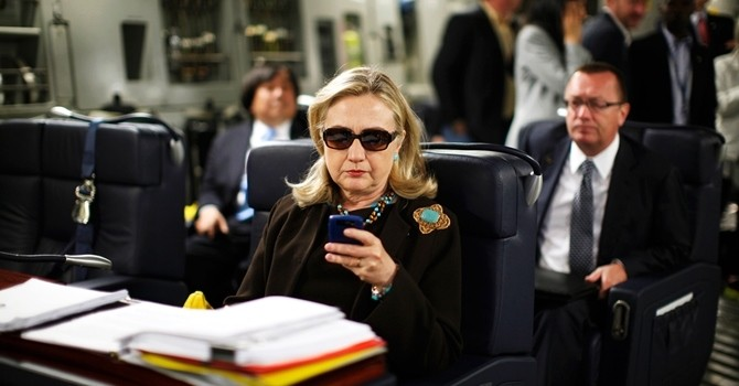 Thăm văn phòng công nghệ của Hillary Clinton