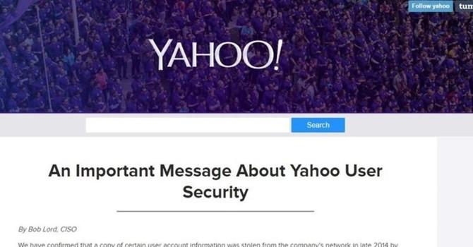 Yahoo xác nhận hơn 500 triệu tài khoản người dùng của họ đã bị hack