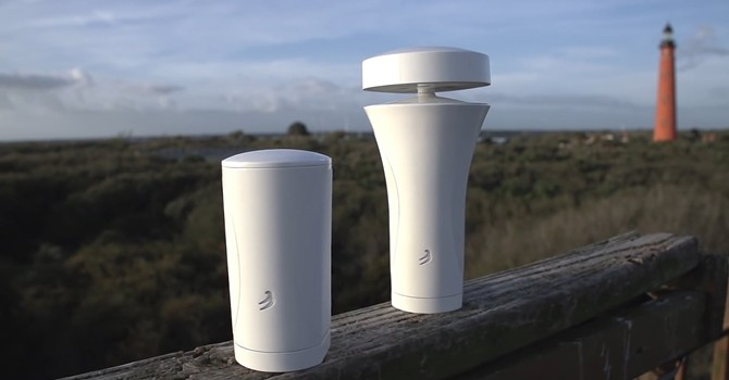 [Video] Thiết bị thông minh có thể báo người dùng khi nào sẽ mưa