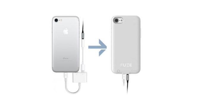 Xuất hiện ốp lưng giúp iPhone 7 có cổng tai nghe 3,5 mm