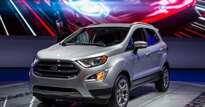 Công nghệ 24h: Ford Ecosport 2018 được ra mắt với nhiều thay đổi