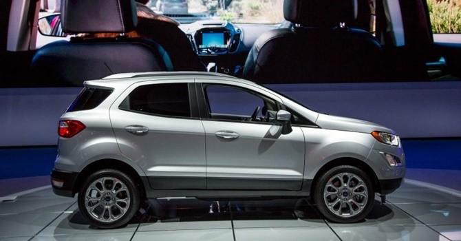 Chi tiết mẫu Ford Ecosport 2018 mới được ra mắt