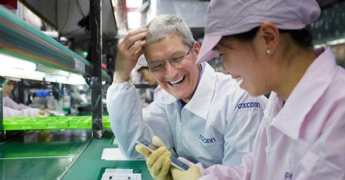 Apple đang cố gắng chuyển sản xuất iPhone về Mỹ?