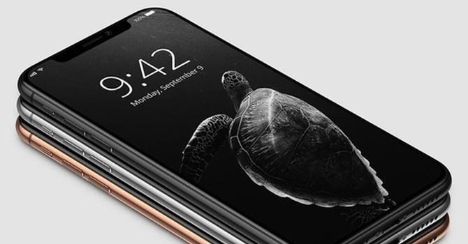 iPhone X rò rỉ hình ảnh trước giờ ra mắt