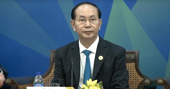 Chủ tịch nước Trần Đại Quang phát biểu tại Hội nghị thượng đỉnh APEC - ABAC 2017