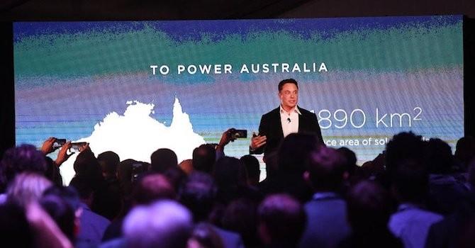 Kết quả hình ảnh cho Tỷ phú Elon Musk xây dựng thành công nhà máy tích điện lớn nhất thế giới ở Úc