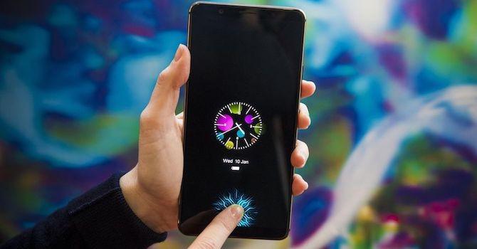 [Video] Xuất hiện mẫu điện thoại đầu tiên có cảm biến vân tay dưới màn hình