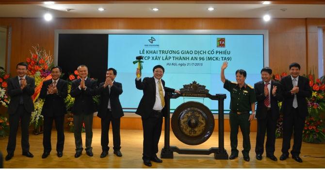 Đón 8 tân binh trong tháng 7, giá trị niêm yết của HNX  đạt gần 5 tỷ USD