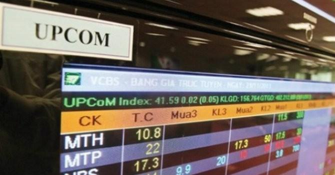 UPCoM đón 2 cổ phiếu ngành chế biến thuốc lá và cấp thoát nước ngày 14/10
