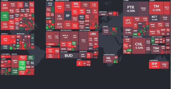 Trước giờ giao dịch 9/12: Xuất nhập khẩu của Trung Quốc nhấn chìm chứng khoán toàn cầu