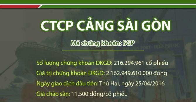 Cảng Sài Gòn chính thức lên UPCoM