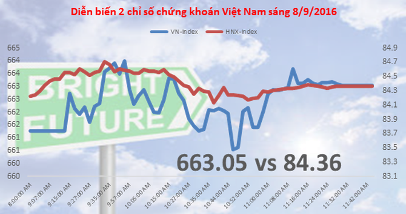 Chứng khoán sáng 8/9: ROS tăng trần phiên thứ 5, khối ngoại giảm áp lực bán VNM