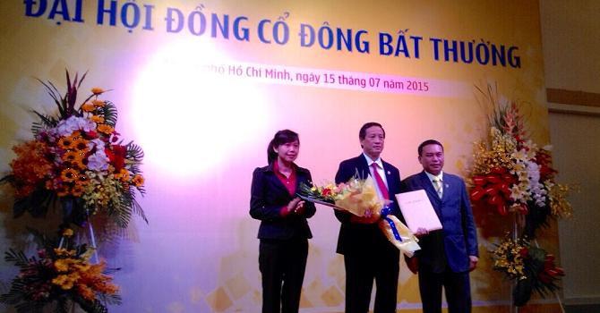 Ông Phan Đình Tân làm Chủ tịch ngân hàng Nam Á