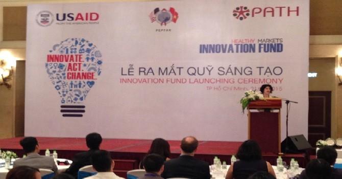 Ra mắt Quỹ sáng tạo thúc đẩy tăng trưởng thị trường