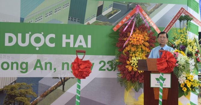 Nông dược HAI đầu tư 150 tỷ xây dựng nhà máy tiêu chuẩn quốc tế