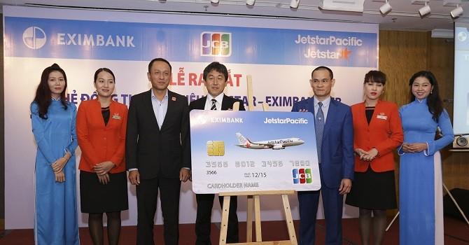 Ra mắt thẻ đồng thương hiệu Jetstar - Eximbank JCB