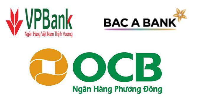 OCB, VPBank và BacABank được tăng vốn điều lệ