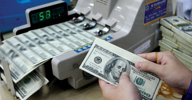 Giữ nguyên tỷ giá trung tâm ngày 6/1 là 21.907 USD/VND