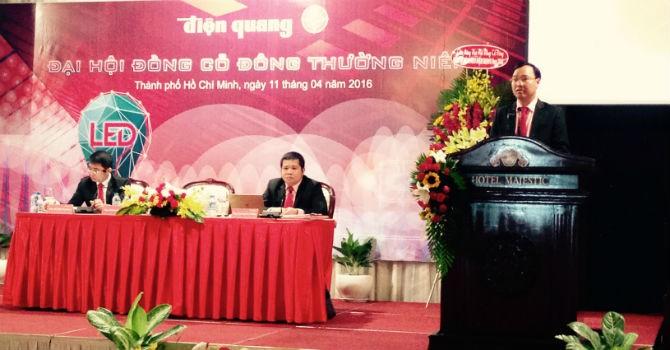 ĐHĐCĐ Bóng đèn Điện Quang: Đối mặt với cạnh tranh đèn Led giá rẻ